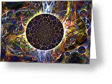 Eclipse Greeting Card by Ursula Freer