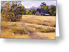 Edge Of Autumn Greeting Card by Karen Ilari