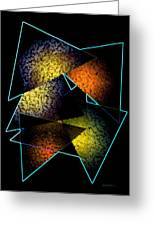 Effects Triangles Greeting Card by Mario  Perez