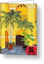 El Convento In Old San Juan Greeting Card by Gloria E Barreto-Rodriguez