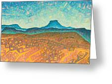 Electromagnetic Observation Greeting Card by Dale Beckman