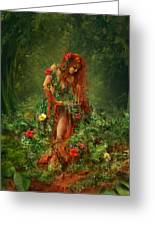 Elements - Earth Greeting Card by Cassiopeia Art