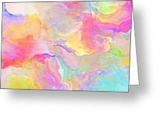 Eloquence - Abstract Art Greeting Card by Jaison Cianelli