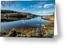 Elsi Reservoir Greeting Card by Adrian Evans