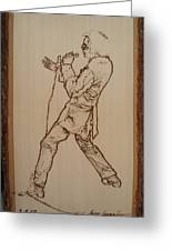 Elvis Presley - If I Can Dream Greeting Card by Sean Connolly