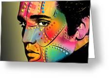 Elvis Presley Greeting Card by Mark Ashkenazi