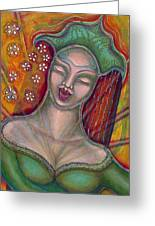Emanating Greeting Card by Annette Wagner