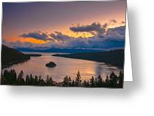 Emerald Bay Before Sunrise Greeting Card by Marc Crumpler