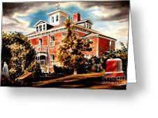 Emerson House Greeting Card by Kip DeVore