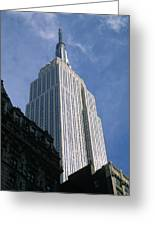 Empire State Building Greeting Card by Jon Neidert