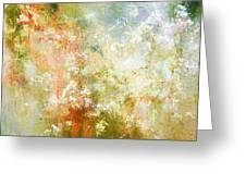 Enchanted Blossoms - Abstract Art Greeting Card by Jaison Cianelli
