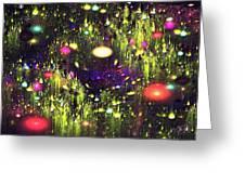Enchanted Meadow Greeting Card by Anastasiya Malakhova
