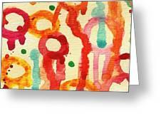 Encounters 3 Greeting Card by Amy Vangsgard