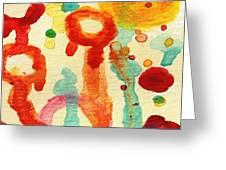 Encounters 7 Greeting Card by Amy Vangsgard