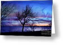 End Of Day Greeting Card by Betty LaRue