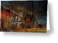 End Times Greeting Card by Lois Bryan