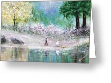 Endless Day Greeting Card by Kume Bryant