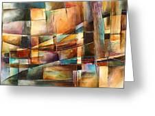'endless Shift' Greeting Card by Michael Lang