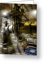Engine Room Greeting Card by Heiko Koehrer-Wagner