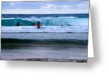 Enjoy The Ocean 2 Greeting Card by Hannes Cmarits