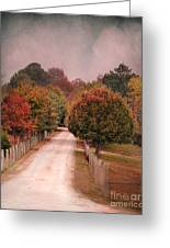 Enter Fall Greeting Card by Jai Johnson
