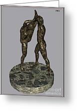 erotic acrobatics 3EA 1 Greeting Card by Pemaro