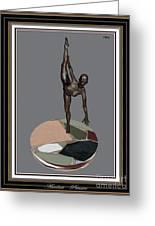 erotic acrobatics 7EA 2 Greeting Card by Pemaro