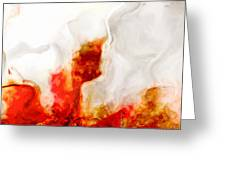 Eruption Greeting Card by Jack Zulli