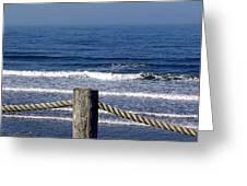 Eternal Sea Greeting Card by Janet Ashworth