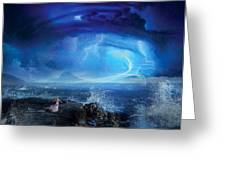 Etherstorm Greeting Card by Philip Straub