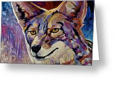 Evening Hunt Greeting Card by Bob Coonts
