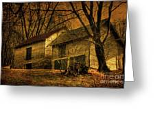Evening Twilight Fades Away Greeting Card by Lois Bryan