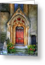 Evensong Greeting Card by Lois Bryan