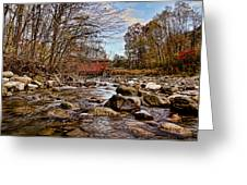 Everett Rd Covered Bridge Greeting Card by Jack R Perry