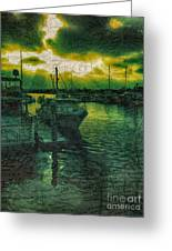 Every Port Greeting Card by Cheryl Young