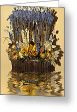 Exotic Bouquet Greeting Card by Svetlana Sewell