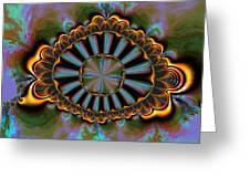 Eye Of Centauris Greeting Card by Claude McCoy