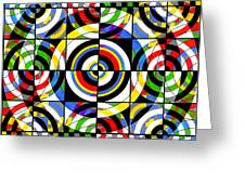 Eye On Target Greeting Card by Mike McGlothlen