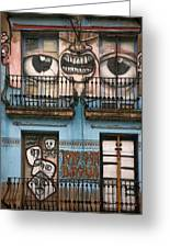 Eyes Of Barcelona Greeting Card by Joanna Madloch