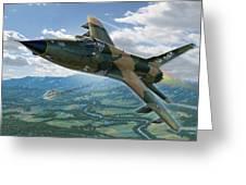 F-105D Thunderchief Mary Kay Greeting Card by Stu Shepherd