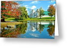 Fabulous Fall Farm Greeting Card by Frozen in Time Fine Art Photography