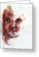 Face Of Africa Greeting Card by Stephie Butler