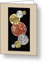 Facets Greeting Card by Rick Roth