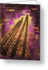 Facing The Sun Greeting Card by Ernestine Manowarda