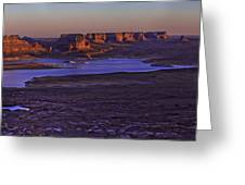 Fading Light Greeting Card by Chad Dutson