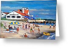 Fairchild Clan' Cape Cod Beach Greeting Card by Philip Corley