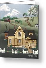 Fairhill Farm Greeting Card by Catherine Holman