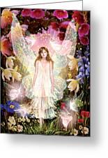 Fairy Crowning Greeting Card by Garry Walton