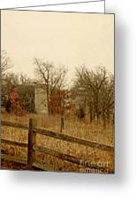 Fall Barn Greeting Card by Margie Hurwich