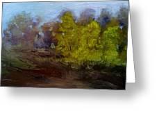 Fall Color Greeting Card by Dwayne Gresham